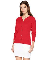 Lacoste - Classic Jersey Cardigan, Af5041 - Lyst
