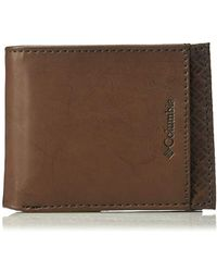 Columbia - Rfid Security Blocking Extra-capacity Slimfold Wallet - Lyst