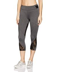 Marc New York - Cropped Legging W/mesh Inserts - Lyst