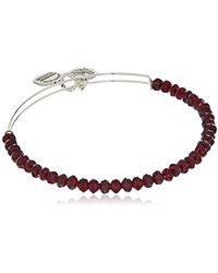 ALEX AND ANI - Brilliance Bead Pink/shinny Bracelet - Lyst