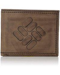 Columbia - Rfid Security Blocking Traveler Wallet - Lyst
