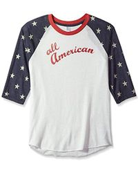 Alternative Apparel - Baseball T-shirt - Lyst