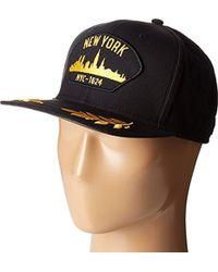 eb22472666c Lyst - Hurley Jacare Trucker Adjustable Hat (black) in Black for Men