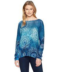 Desigual - Spicatum Pullover Sweater - Lyst