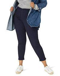 16db708e5db90 NYDJ Plus Size Billie Ankle Bootcut Jeans In Sure Stretch Denim in Blue -  Save 90% - Lyst