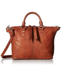 Frye - Veronica Satchel Leather Handbag - Lyst