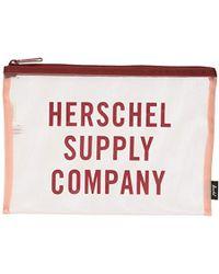 49ed915b879 Lyst - Herschel Supply Co. Herschel X Wtaps Web Case in Black for Men