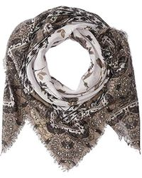 Michael Stars - Falling For Florals Square Scarf (black) Scarves - Lyst
