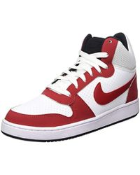 huge discount 4b87b 7a668 Nike - Court Borough Mid Basketball Shoes - Lyst