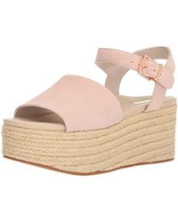 Kenneth Cole - Indra Platform Espadrille Sandal Ankle Strap Heeled - Lyst