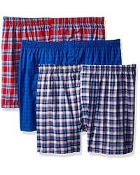Hanes - Red Label Comfortblend Woven Boxers - Lyst