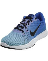 efbe599bd0bc Lyst - Nike Flex Trainer 7 Cross in Blue