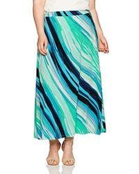Kasper - Plus Size A Line Maxi Skirt - Lyst