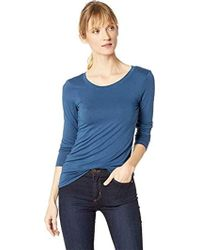 Three Dots - Long-sleeve T-shirt - Lyst
