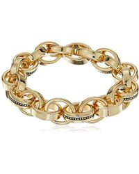 Laundry by Shelli Segal - Melrose Place Chain Link Stretch Bracelet - Lyst