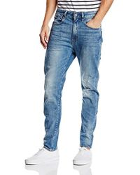 44e08a27ff0 G-Star RAW Kamden Super Slim 5620 3d Zip-knee Jeans in Blue for Men - Lyst