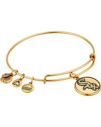 ALEX AND ANI - Chicago White Sox Cap Logo Expandable Bangle Bracelet - Lyst