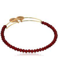 ALEX AND ANI - Brilliance Bead Life On Mars Red/shinny Bracelet - Lyst