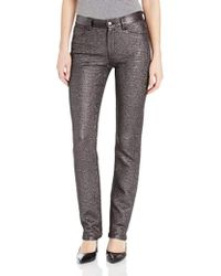 Timo Weiland - Straight Leg Jacquard Pant With Embroidery - Lyst