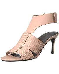 44dec90af9 Via Spiga - Justine2 Woven Heel Heeled Sandal - Lyst