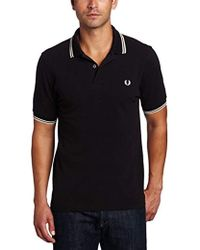 Fred Perry - Twin Tipped Polo - Lyst