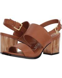 2c592f5baba2 Lyst - Calvin Klein Rosemary Crevo Sandal in Brown