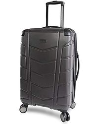 e925d7f1e Ben Sherman Embossed 28-inch Checked Hard Shell Luggage in Red - Lyst