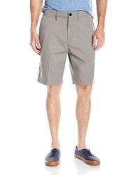 Quiksilver - Everyday Union Stretch Short, Light Grey Heather, 31 - Lyst