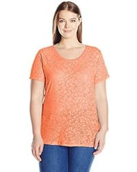 Columbia - Sandy River Plus Size Tee - Lyst