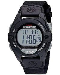 Timex - Expedition Classic Digital Chrono Alarm Timer Full-size Watch - Lyst