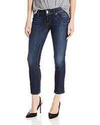 6530eb16576 Hudson Jeans Jeans Collin Skinny in Wanderlust in Blue - Lyst