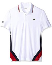 83908f5fe997b7 Lyst - Lacoste Tennis Short Sleeve Side Colorblock Polo for Men