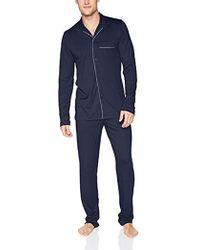Hanro - Narius Long Sleeve Button Front Pajama Set, - Lyst