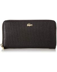 Lacoste - Chantaco Large Zip Wallet, Nf2070ce - Lyst
