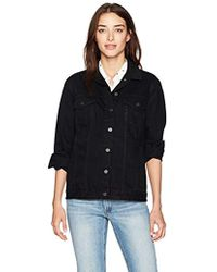 French Connection - Slouchy Western Denim Jacket - Lyst