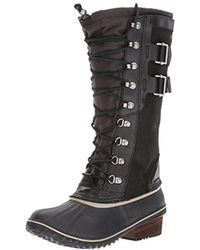 Sorel - Conquest Carly Ii Mid Calf Boot - Lyst