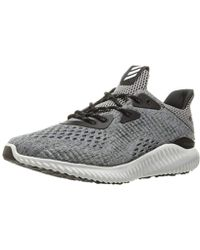 buy popular 5bb16 9bb6a adidas - Alphabounce Hpc Ams W Running Shoe - Lyst