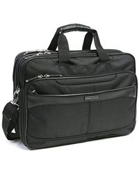 Perry Ellis - Checkpoint Friendly Laptop Computer Tablet Business Travel Briefcase Bag - Lyst