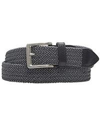 Tommy Bahama - 1.5 In. Woven Braided Cotton Belt - Lyst