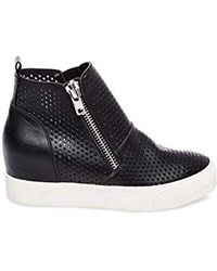 fe06d06de7c Lyst - Steve Madden Wedgie-p Sneaker in Black