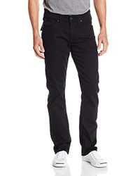 True Religion - Ricky Relaxed-fit Flap Pocket Jean In Midnight Black - Lyst