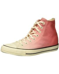 Converse - Chuck Taylor All Star Ombre High Top Sneaker - Lyst