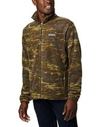 Columbia - Steens Mountain Printed Jacket - Lyst