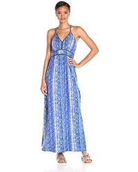 Ella Moss - Inka Print Maxi Dress - Lyst