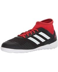 ae8add886a0 adidas Predator Tango 18.3 Indoor Soccer Shoe in Red for Men - Lyst