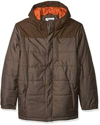 Champion - Tall Size Tech Herringbone Quilted Puffer With Hood - Lyst