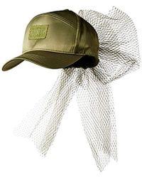 0e9c628d PUMA - Fenty Bow Cap Net, Olive Branch Adult - Lyst