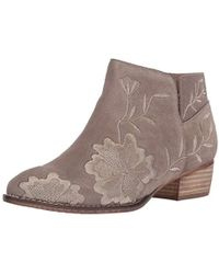 Seychelles - Lantern Suede Ankle Boot - Lyst