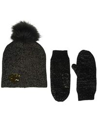 Betsey Johnson - Heart Hat Glove 2 Piece Set - Lyst