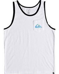 b7eaa58ce0cbb8 Quiksilver - Vice Versa Tank Top Tee Shirt - Lyst